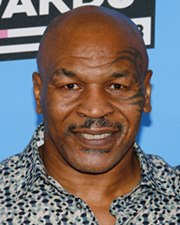 Heavyweight Boxing Champion Mike Tyson