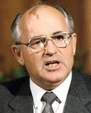 General Secretary of the Communist Party of the Soviet Union Mikhail Gorbachev