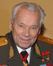 Inventor Mikhail Kalashnikov