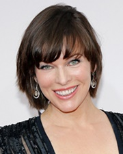 Actress Milla Jovovich