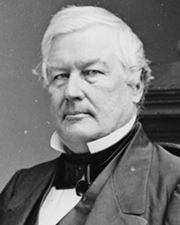 13th US President Millard Fillmore