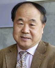 Novelist Mo Yan