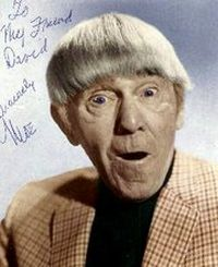 Comedian Moe Howard