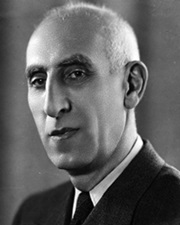 Prime Minister of Iran Mohammad Mosaddegh