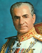 Last Shah of Iran Mohammad Reza Pahlavi