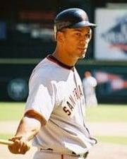 MLB Outfielder Moises Alou
