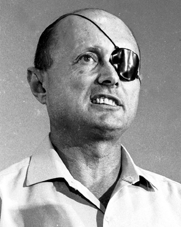 Israeli Politician and General Moshe Dayan
