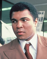 Heavyweight Boxing Champion Muhammad Ali