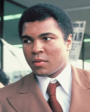 Heavyweight Boxing Champ Muhammad Ali