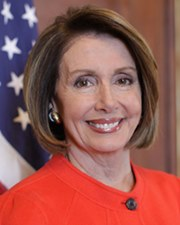 US Speaker of the House Nancy Pelosi