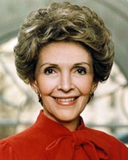 US First Lady Nancy Reagan
