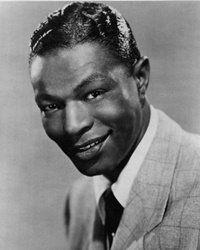 Musician Nat King Cole