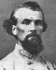 Confederate General and KKK Grand Wizard Nathan Bedford Forrest