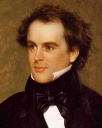 historical facts through nathaniel hawthorne Nathaniel hawthorne (1804 -1864) nathaniel hawthorne was a novelist and short story writer hawthorne's works have been labelled 'dark romanticism,' dominated as they are by cautionary tales that suggest that guilt, sin, and evil are the most inherent natural qualities.