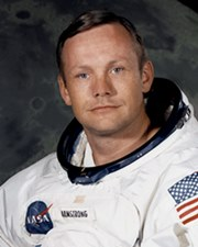 Astronaut & 1st Man on the Moon Neil Armstrong