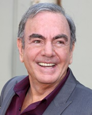 Singer-songwriter Neil Diamond