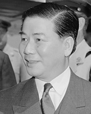 President of South Vietnam Ngô Đình Diệm