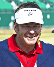 Golfer and Six-Time Major Championship Winner Nick Faldo
