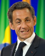 President of France Nicolas Sarkozy