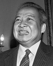 King of Cambodia Norodom Sihanouk