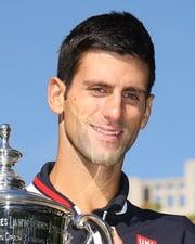 Tennis Champion Novak Đoković