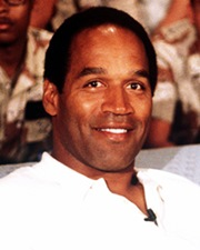 NFL Running Back and Convicted Criminal O.J. Simpson
