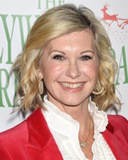 Singer and actress Olivia Newton-John