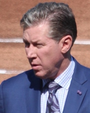 Baseball Pitcher Orel Hershiser