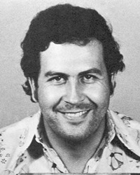 Colombian Drug Lord Pablo Escobar