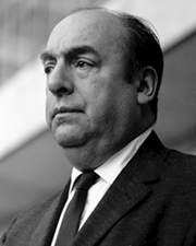 Poet Pablo Neruda