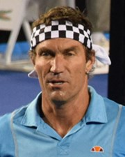 Tennis Player Wimbledon Champion Pat Cash
