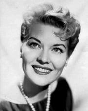 Singer Patti Page