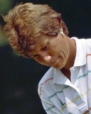 LPGA Golfer Patty Sheehan