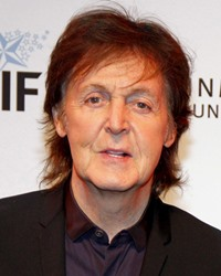 Musician and Beatle Paul McCartney