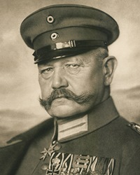 German President and WWI General Paul von Hindenburg