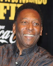 Brazilian Football Legend Pele