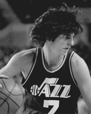 NBA Guard Pete Maravich