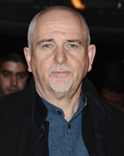 Rock Vocalist Peter Gabriel