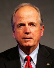 Olympic Executive and Commissioner of Baseball Peter Ueberroth