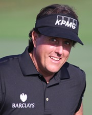 Golfer and Five-Time Major Championship Winner Phil Mickelson