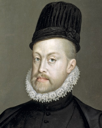 King of Spain Philip II