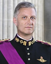 King of Belgium Philippe of Belgium