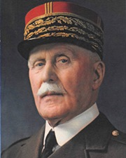 French General Philippe Pétain