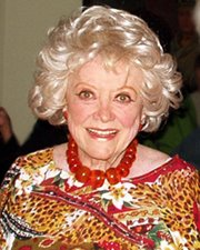 Comedienne and Actress Phyllis Diller