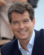 Actor Pierce Brosnan