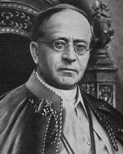 259th Pope Pius XI