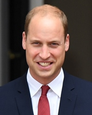 Duke of Cambridge; RAF Search and Rescue helicopter pilot Prince William