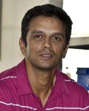 Cricketer Rahul Dravid