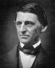 Lecturer and Poet Ralph Waldo Emerson