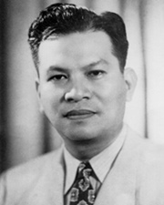 7th President of the Philippines Ramon Magsaysay